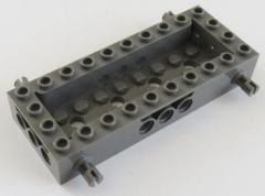 LEGO - Fahrgestell / Vehicle Base 4 x 10 x 1 1/3, dunkelgrau # 30643
