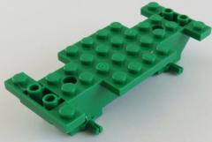 LEGO - Fahrgestell / Vehicle Base 4 x 10 x 1 2/3, grün # 30235