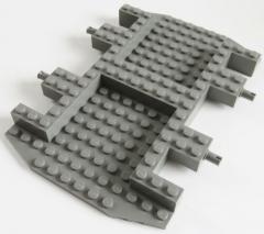 LEGO - Fahrgestell / Vehicle Base 12 x 18 x 1 1/3, dunkelgrau # 30295