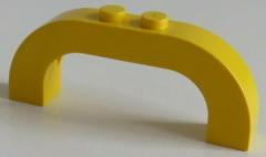 LEGO - Bogen / Arch 1 x 6 x 2 gebogen (2 Stück), gelb # 6183