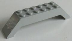 LEGO - Bogen / Arch 45  10 x 2 x 2, doppelt geneigt (2 Stück), hellgrau # 30180