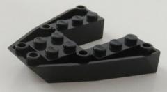 LEGO - Boot Rumpf / Bug / Bow Brick 6 x 6 x 1 (2 Stück), schwarz # 2626
