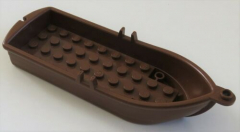 LEGO - Ruderboot / Boat, braun # 2551