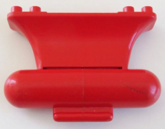 LEGO - Bootskiel / Boat Keel Weighted 8 x 2 x 4 (beschwert), rot # x149