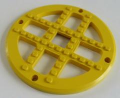 LEGO Fabuland - Karussell / Riesenrad Grundplatte / Basis 13 x 2/3, gelb # 4750