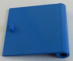 LEGO - Tür / Door - Tür 1 x 5 x 4, rechts, blau # 3194a