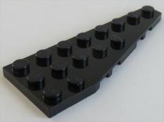 LEGO - Platte / Plate 8 x 3 rechts (2 Stück), schwarz # 50304
