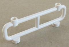LEGO - Zaun / Absperrung / Fence 1 x 8 x 2, weiß # 2486