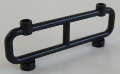 LEGO - Zaun / Absperrung / Fence 1 x 8 x 2, schwarz # 2486