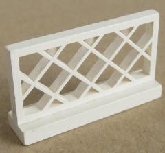 LEGO - Zaun / Fence 1 x 4 x 2 (2 Stück), weiß # 3185