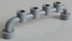 LEGO Stab / Bar 1 x 6 mit geschl. Noppen (4 Stück), Absperrung, hell blaugrau # 6140